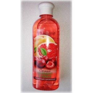 Гель для душа Правильное решение! Сочный грейпфрут и вишня, тонизирующий и увлажняющий фото