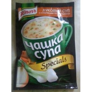 Супы быстрого приготовления Knorr Луковый суп с сухариками по-французски фото