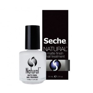 Укрепляющее матовое покрытие для слабых ногтей Seche  Natural Matte Finish Nail Treatment  фото