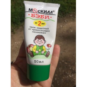Крем Москилл Бэби  защитный от кровососущих насекомых фото