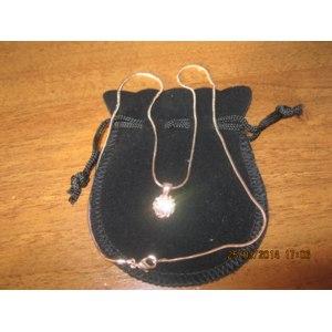 Подвеска Aliexpress ZYN390 Crown Crystal Necklace 18K Rose Gold Plated Fashion Jewellery Nickel Free Pendant Crystal фото