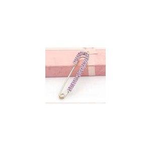 Брошь Aliexpress A002 accessories brooch pin vintage large pin crystal rhinestone cape buckle corsage фото