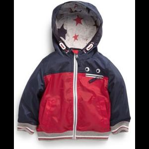 Ветровка NEXT Куртка с красными и темно‑синими вставками (от 3 мес. до 6 лет) фото