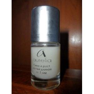 Лак для ногтей Aurelia сила и рост ногтей длиной от 3 мм. фото