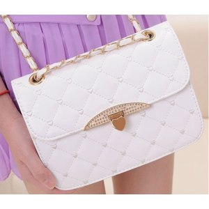 Сумка через плечо Aliexpress Hot sell evening bag peach heart women bag leather handbags chain bag fashion women bag day clutches фото