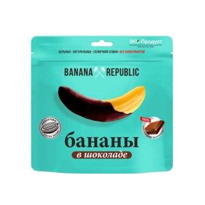 Сушеные бананы BANANA REPUBLIC в шоколаде фото