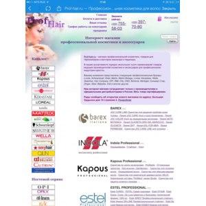 Интернет-магазин профессиональной косметики и аксессуаров prof-hair.ru фото