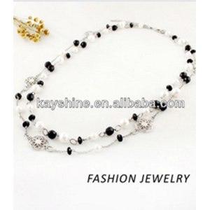 Бижутерия Aliexpress Women's Fall Fashion Jewelry Long Body Chain Necklace With Beads And Created Pearl фото