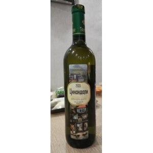 Вино белое сухое Тамариони Цинандали фото