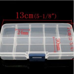 Бокс коробка шкатулка для бусин aliexpress Clear Beads Display Storage Case Box 13x7x2.3cm фото