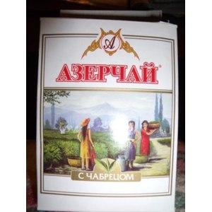 Чай  Азерчай С чабрецом фото