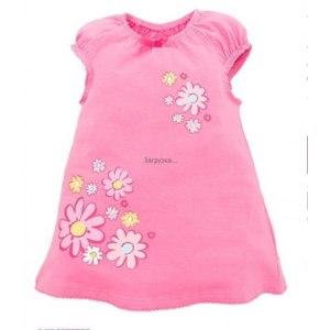 Платье детское Play Today трикотажное для девочек (артикул 148081) фото