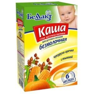 Каша Беллакт Кукуруза-гречка с тыквой фото
