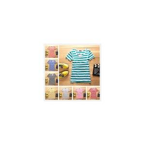Футболка AliExpress 2014 women high quality t-shirt striped shirt core tee women shirt modal ladies фото