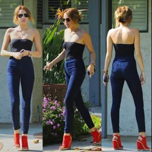 Джинсы AliExpress 2015 Hot Sale New Fashion Euramerican High Waist Elastic Jeans Thin Skinny Pencil Pants Sexy Slim Hip Denim Jean Pants For Women фото