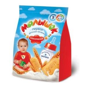 Печенье детское Для детей от 5 месяцев Малышок фото
