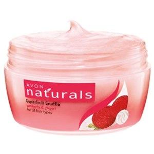 """Фруктовая маска-суфле для волос Avon Naturals """"Мирика и йогурт"""" фото"""