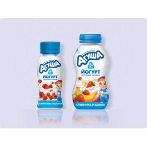 Йогурт Агуша Детский питьевой фото