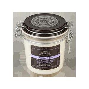 Масло для массажа Natura Siberica густое массажное для тела sauna & spa фото