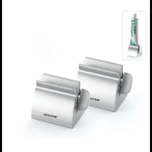 Выдавливатель для зубной пасты AliExpress Anya New Rolling Tube Toothpaste Squeezer Dispenser Bathroom Accessories фото