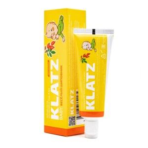 Зубная паста Klatz baby Веселый шиповник от 0 до 4 лет фото