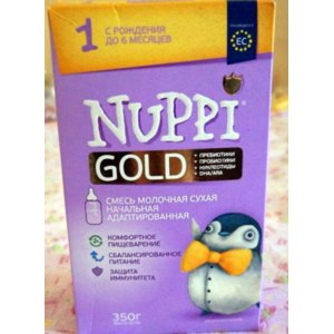 Детское питание Nuppi Gold фото