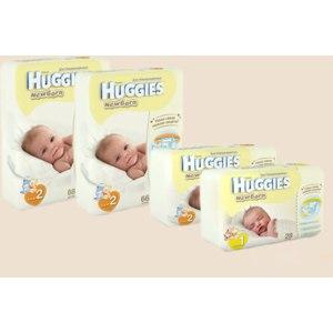 Подгузники Huggies Newborn 2013 Желтые фото