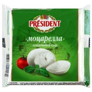 "Сыр плавленый President ""Моцарелла"" фото"