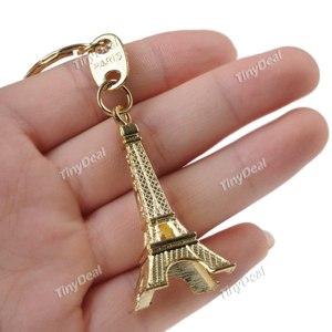 Брелок для ключей Tinydeal Eiffel Towel Style Keychain Key фото