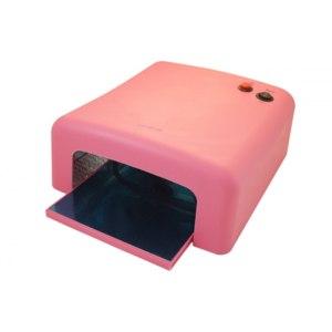 УФ лампы для маникюра 818 (Ультрафиолетовая лампа) 36 W (розовая)  фото
