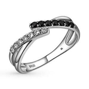 Кольцо SUNLIGHT BRILLIANT Серебряное с фианитом артикул 21538 фото