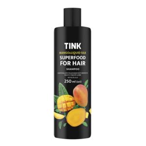 Шампунь TINK для поврежденных волос Манго-Жидкий шёлк  фото