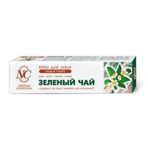 Крем для лица Невская косметика Защитный для всех типов кожи Зелёный Чай фото