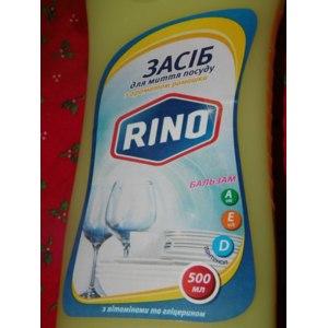 Моющее средство для посуды RINO с ромашкой фото