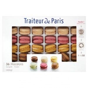 Десерт Traiteur de paris Замороженное миндальное печенье фото
