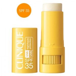 Крем после загара CLINIQUE Солнцезащитный крем-стик для чувствительной кожи SPF35 Targeted Protection Stick фото