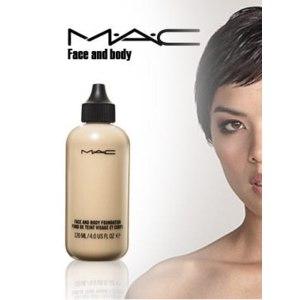 Тональная основа MAC Face and Body Foundation для лица и тела фото