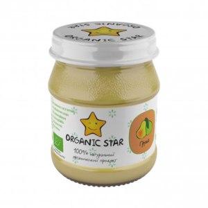 Детское питание Organic star груша фото
