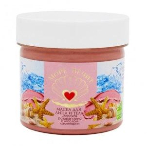 Маска для лица и тела Бизорюк Море лечит «Розовая глина с маслом ламинарии» фото
