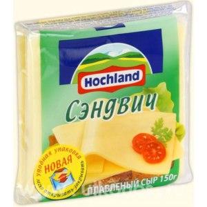Плавленый сыр Hochland Сэндвич фото