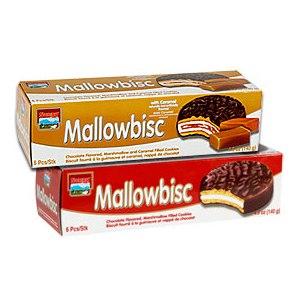 Печенье Mallowbisc в шоколаде с карамельным наполнителем фото
