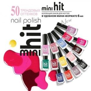 Лак для ногтей BelorDesign hit mini фото