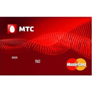 Банковская карта МТС деньги фото