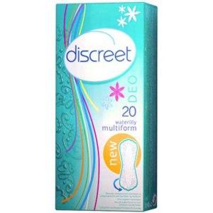 Прокладки ежедневные Discreet Deo Waterlily Multiform фото