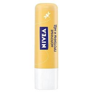 """Бальзам для губ NIVEA """"Молочные протеины и Мед"""" фото"""