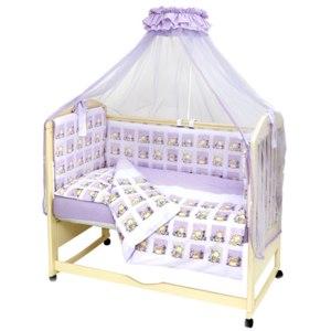 Комплект постельного  в кроватку Топотушки Мишутка (7 предметов) фото