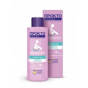 Средства д/лечения геморроя Прокто Herbs Комплекс экстрактов для ванночки фото