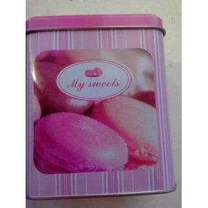 Жестяная баночка  Fix Price My sweets фото