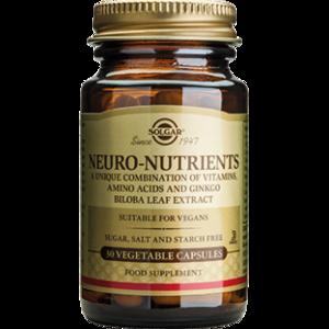 БАД Solgar Neuro-Nutrients 30 Capsules фото