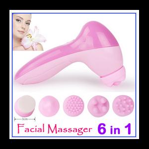 Массажер Aliexpress Массажер для лица Fashion Mini 6 in1 Skin Face Care Massage Machine фото